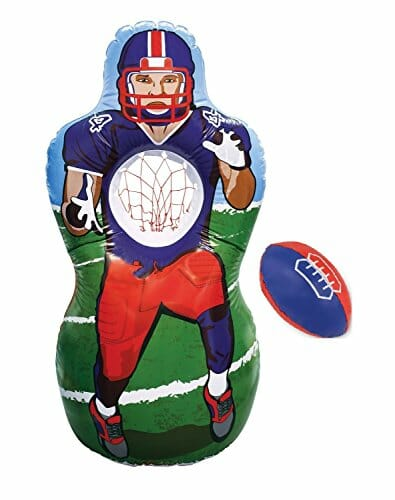 football target inflatable man for young boys