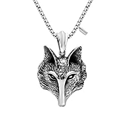 fox head pendant