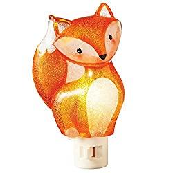 fox orange night light
