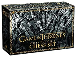 game of thrones collector´s chess set