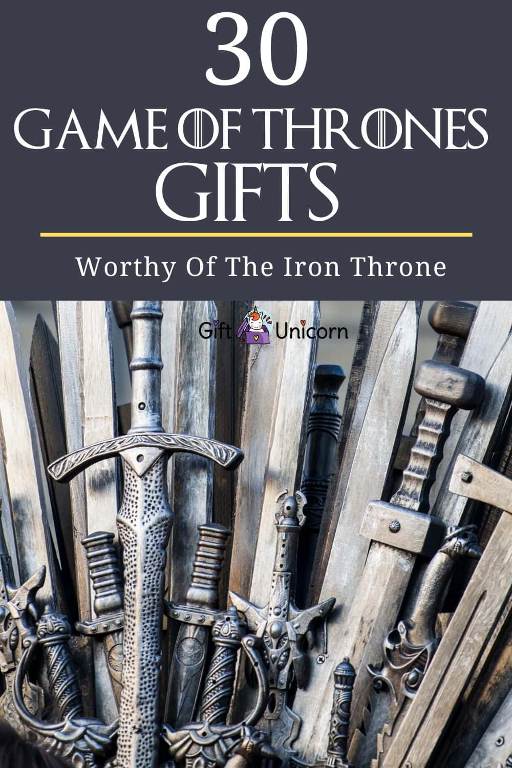 game of thrones gifts pin image