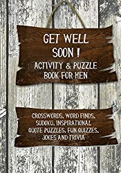 get well soon activity and puzzle book
