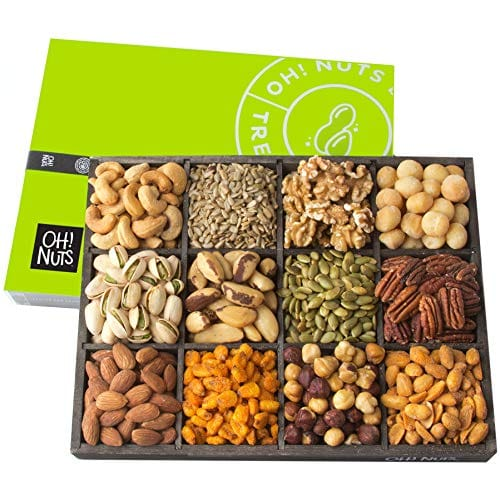 mixed nuts gift basket