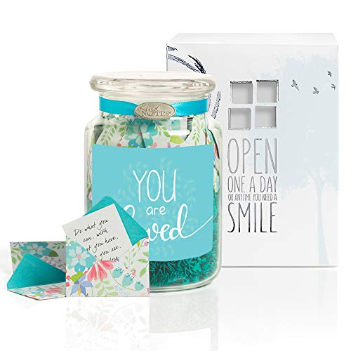 gift jar with fighting messages