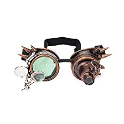 goggles with double ocular loupe