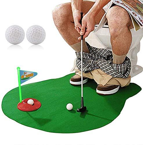 golf toilet toy