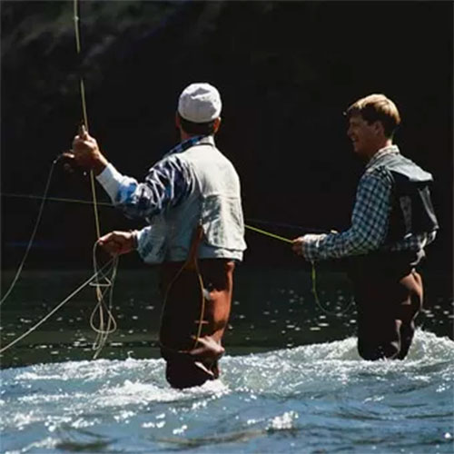guided fly fishing tour