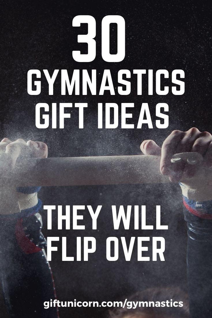 Gymnastics gift ideas pin image
