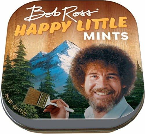 bob ross happy mints box