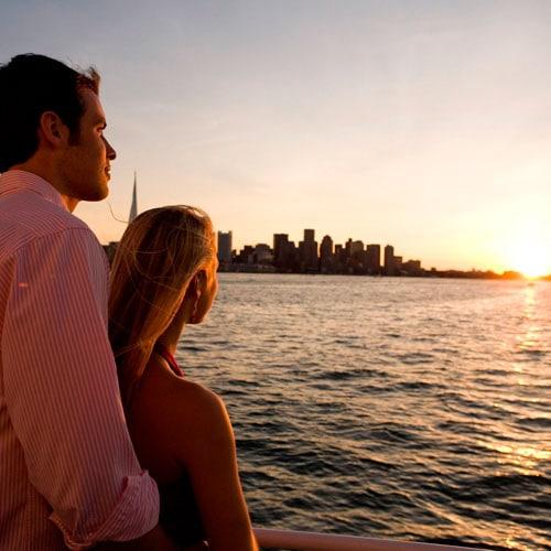 Harbor sunset cruise