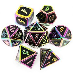 haxtec metal dice set