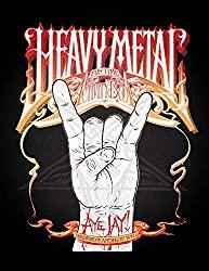 heavy metal activity book