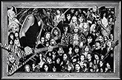 heavy metal collage music poster