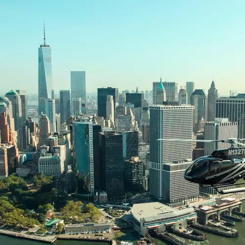 helicopter tour for New York city