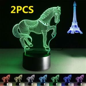 horse themed night light