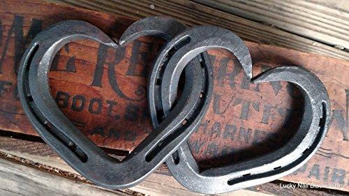 horseshoes heart wall decor