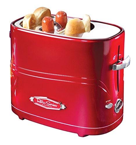 hot dog and bun toaster