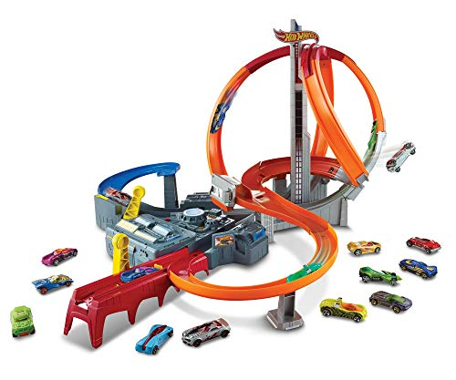 hot wheeles spin storm track set