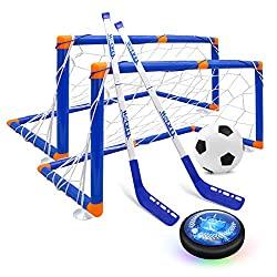 hover hockey set