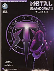 how play style metal lead guitar book