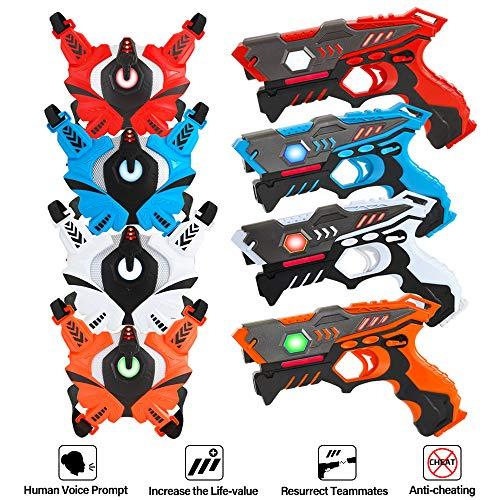 infrared laser tag gun set