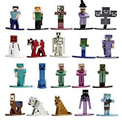 jada toys minecraft 2 figurines