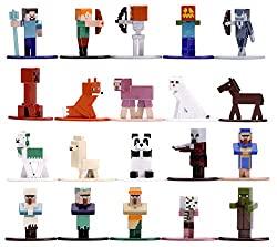 jada toys minecraft 3 figurines