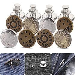 jean button pins