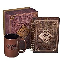 journal and coffee mug set