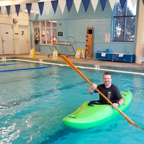 kayaking- learn to roll