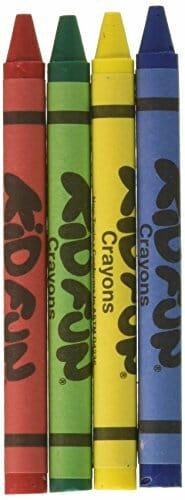 Kid color crayons