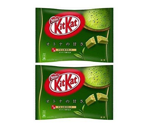 KitKat maccha green tea
