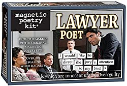 lawyer magnetic poetry kit