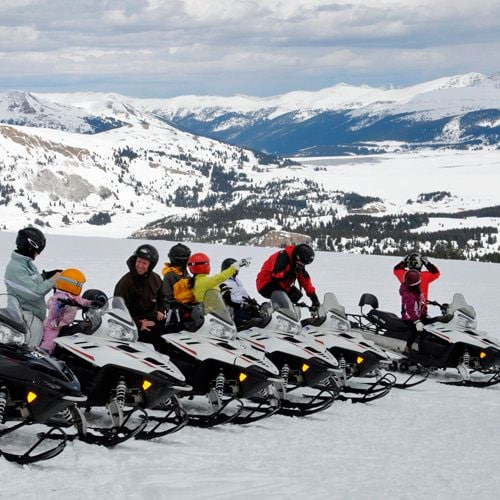 leadville guided snowmobile tour