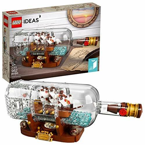 lego bottle boat set