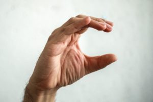 hand shaped like the letter c
