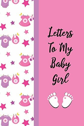 letters to baby girl journal book cover