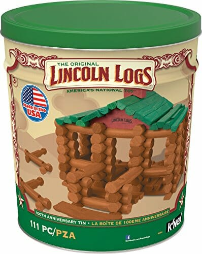 original lincoln logs box