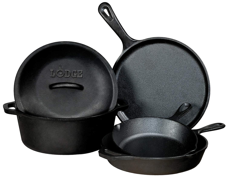 lodge seasoned cast iron bundle
