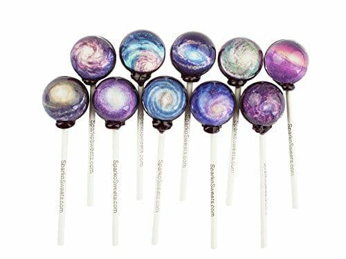galaxy spiral lollipops