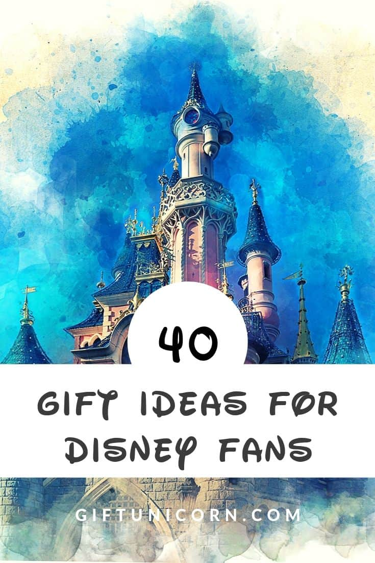 40 Magical Gift Ideas for Disney Fans - pinterest pin image