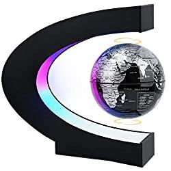 magnetic levitation glove with LED light