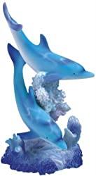 marine life dolphin figurine