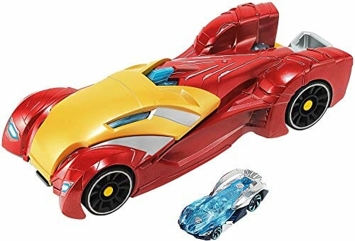 marvel branded hotwheels toy car
