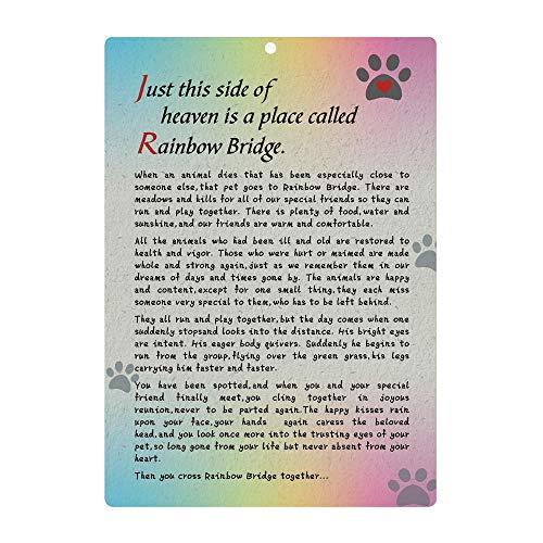 Solid Pewter Pet Memorial Garden Stake Always Remember your Best K9 Friend