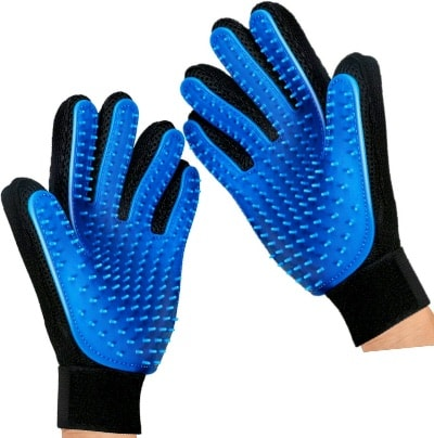 hand grooming gloves for dogs