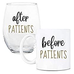 mug and wine tumbler