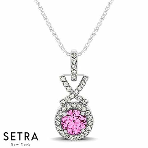 18k necklace from setra