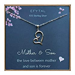 necklace for mother and son