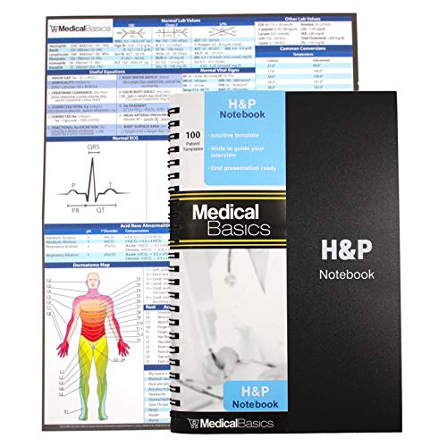 notebook medical history and physical